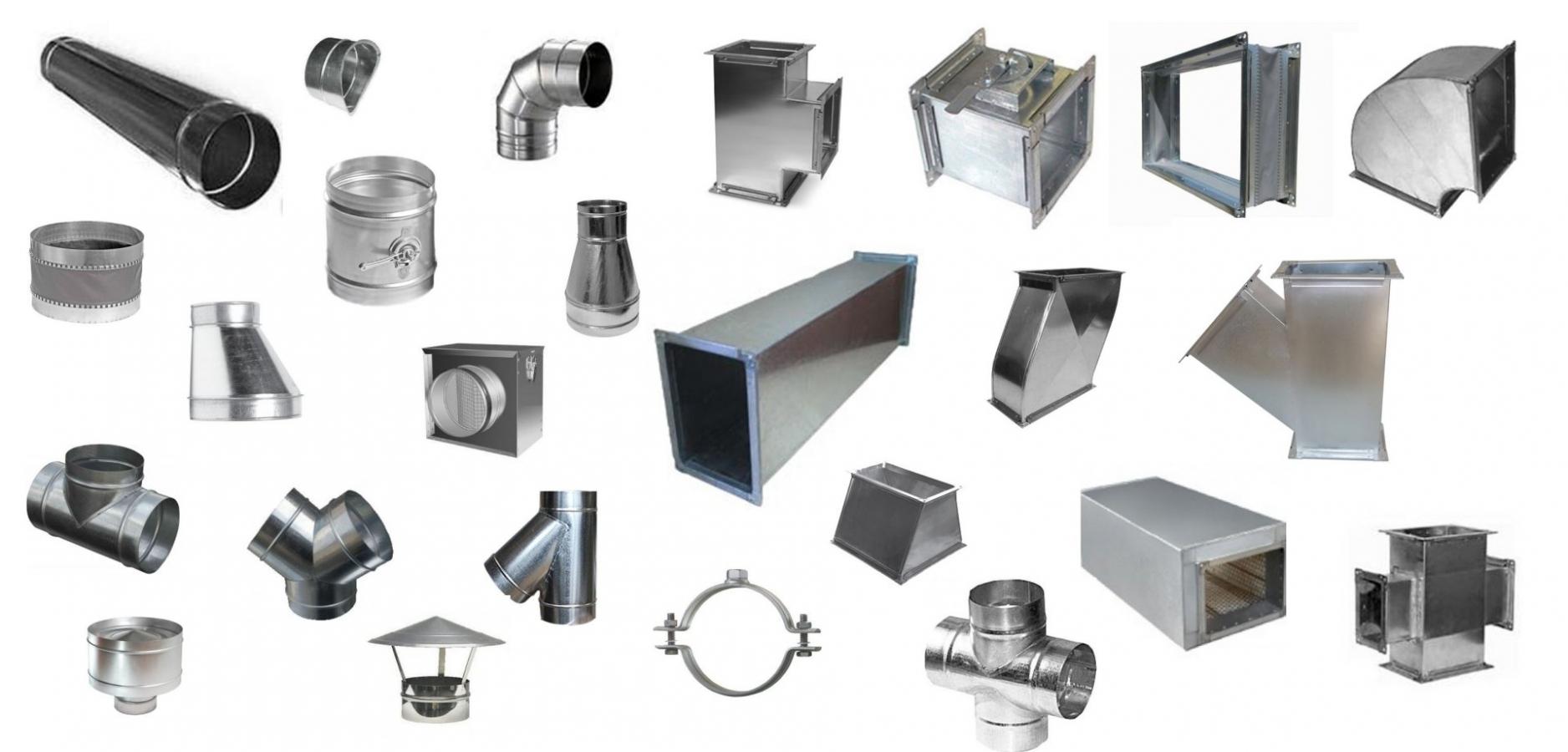 У нас можете купить вентиляционные системы: воздуховод, врезка, отвод, тройник, клапан (дроссельная заслонка), гибкая вставка, переход, утка, тройник (штаны), шумоглушитель, крестовина, дефлектор, зонт, хомут.